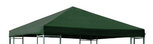 Ersatzdach für Pavillon 3x3 Meter dunkelgrün, wasserdicht