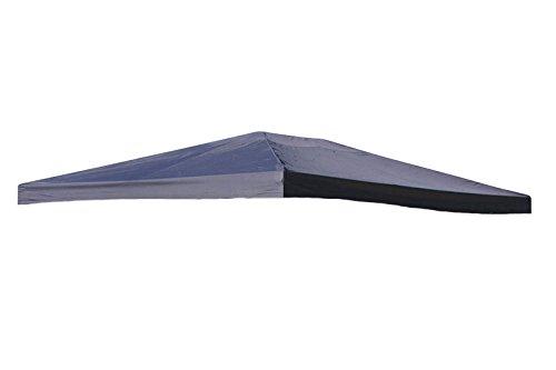 Grasekamp Ersatzdach zu Aluoptik Pavillon 3x4m Anthrazit