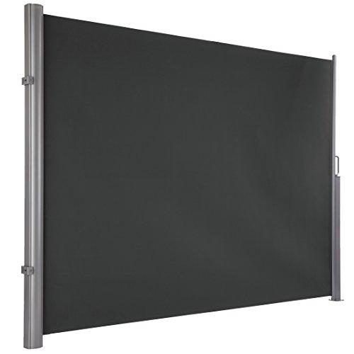 Ultranatura Maui Seitenmarkise ca. 180 x 300 cm, Seitenwandmarkise ausziehbar, Seitenrollo Balkon,...