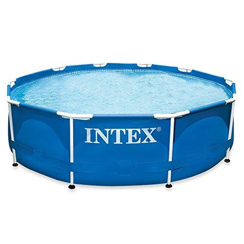 Intex Aufstellpool Frame Pool Set Rondo, ohne Filterpumpe, blau, Ø 305 x 76 cm