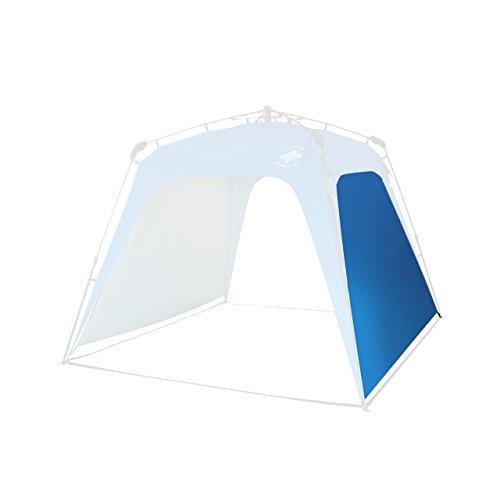Lumaland Outdoor Seitenteil für Pop Up Pavillon Seitenwand für Gartenzelt Camping Partyzelt Zelt...
