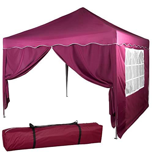 INSTENT® Basic 3x3m Faltpavillon, Pavillon, WASSERDICHT (SGS geprüft) + UV-Schutz 50+ (TÜV...