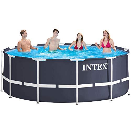 Intex 366x122 cm Schwimmbecken Swimming Pool Schwimmbad Frame Metal 28904